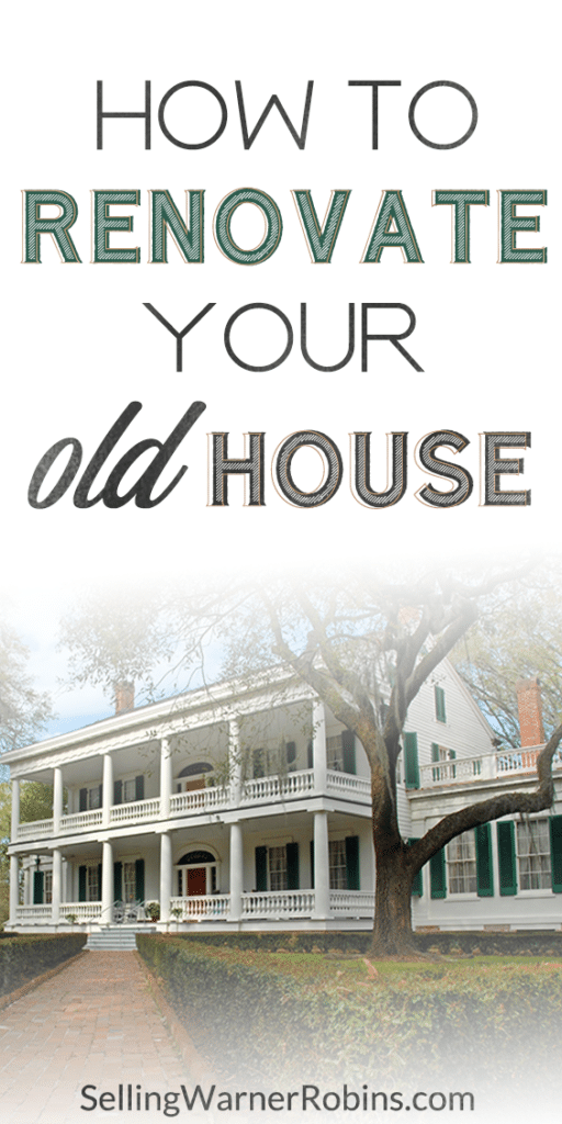How to Renovate Your Old House