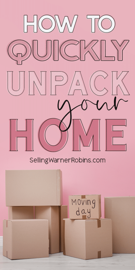 How to Quickly Unpack Your Home