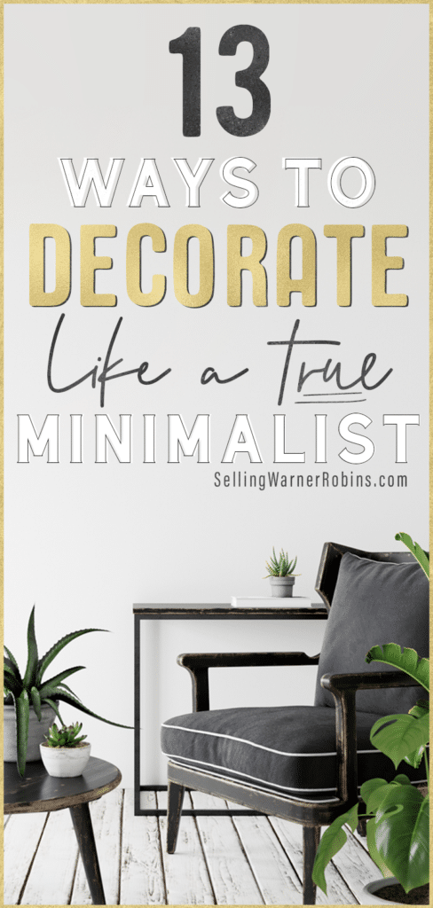 How to Decorate like a Minimalist