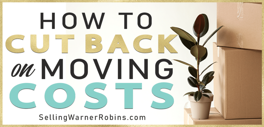 How to Cut Back on Moving Costs