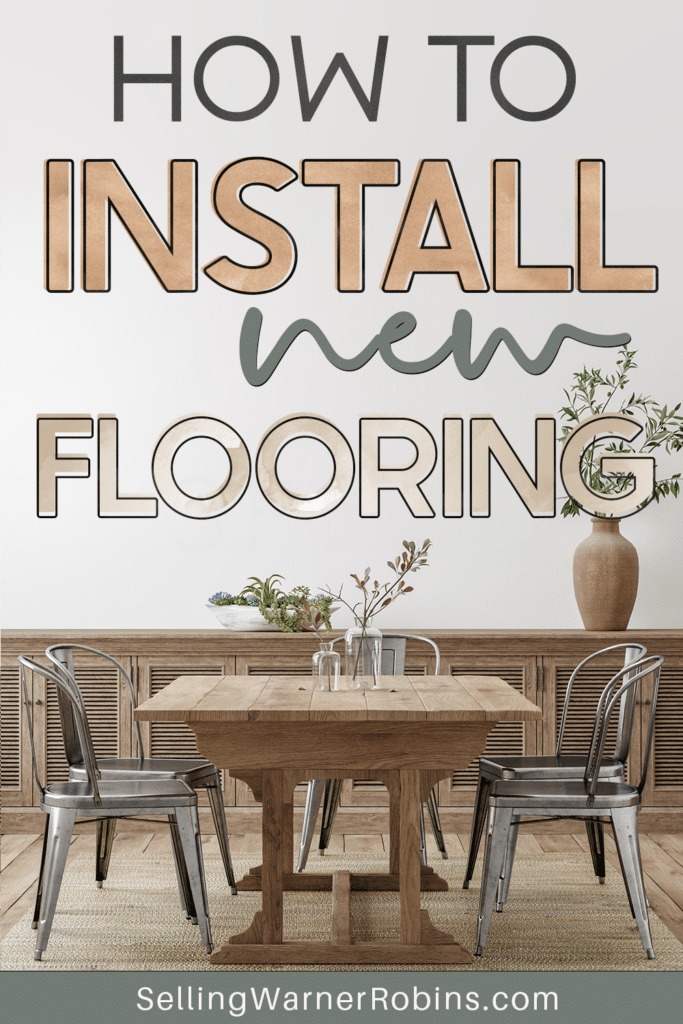 How to Install New Flooring