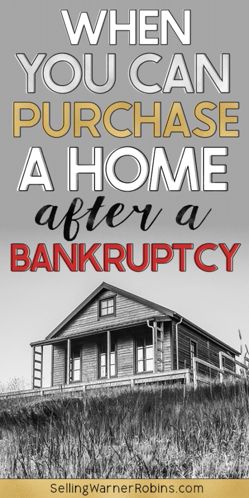 When You Can Purchase A Home After a Bankruptcy